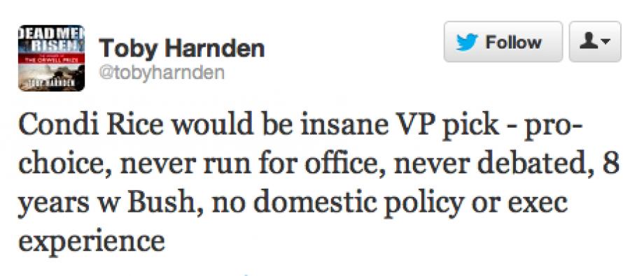 Condi for VP?