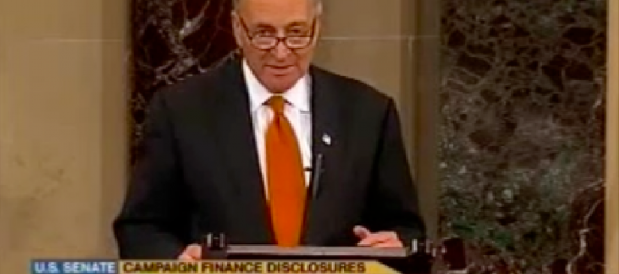 Sen. Chuck Schumer Wants To Limit on First Amendment Rights