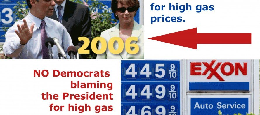 White House to Blame for High Gas Prices