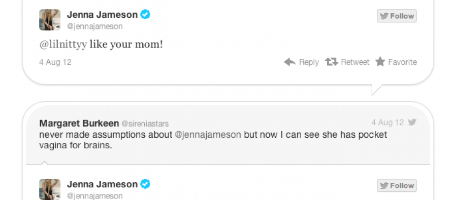 "HA! Jenna Jameson Responds to Lefty Haters With ""Your Mom"" Quips"