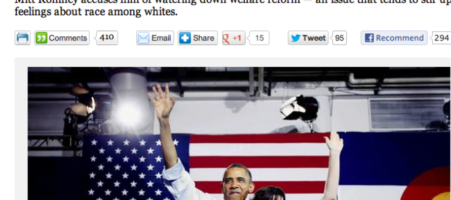 LA Times Feeds Into Obama's Wedge Politics, Says 2012 Is Up To 'Women and White People'