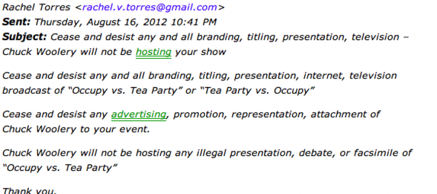 Ms.Christine O'Donnell, Occupy vs. Tea Party Isn't Your Idea!