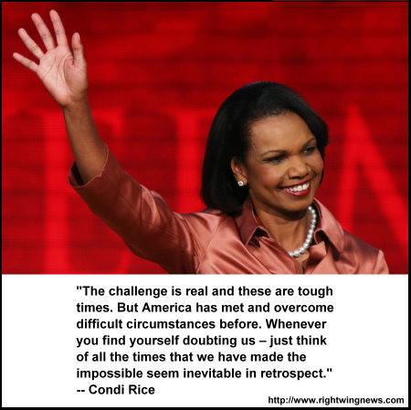 Condi Rice. RNc