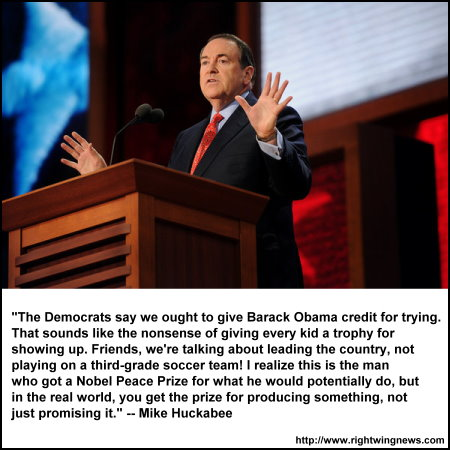 Huckabee. 2012 Convention