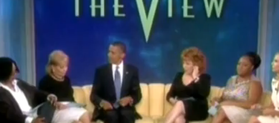 Obama Skirts Another Executive Duty To Pander to 'The View'