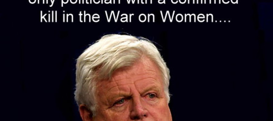 The Only Politician With A Confirmed Kill In The War On Women (Pic)
