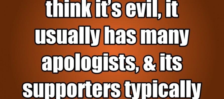 Evil (Quote/Pic)
