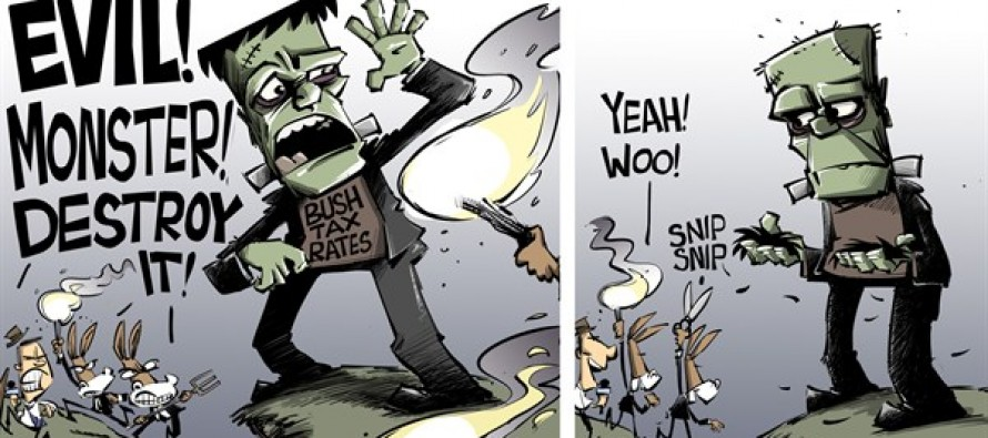 Abomination! Evil! Monster! Destroy It! (Cartoon)