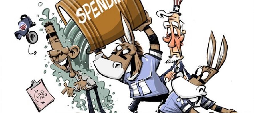 Spending! (Cartoon)
