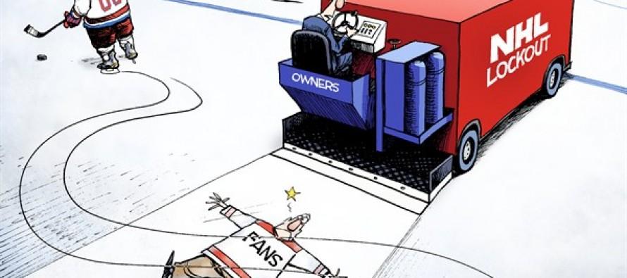 No Hard Feelings, Eh? (Cartoon)