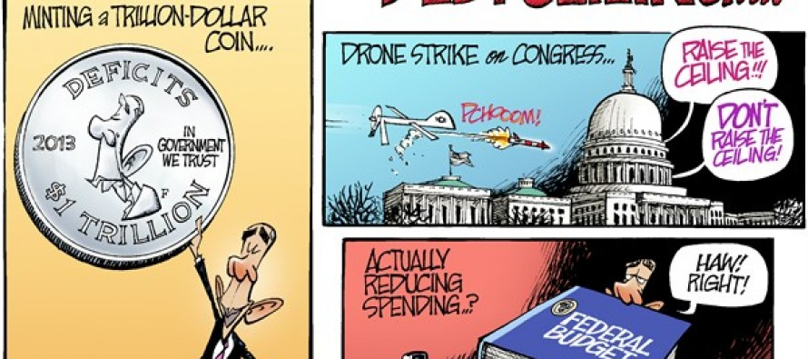 Scenarios For Avoiding The Debt Ceiling… (Cartoon)