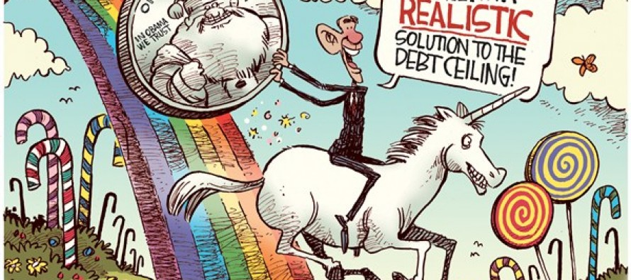 Finally!… A Realistic Solution To The Debt Ceiling! (Cartoon)