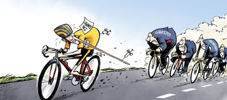Tour de Lance (Cartoon)