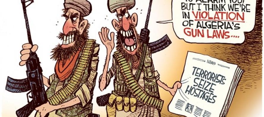 Algeria's Gun Laws (Cartoon)