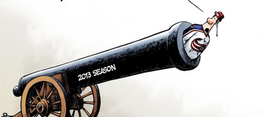 Fire The Cannon Already !!! (Cartoon)
