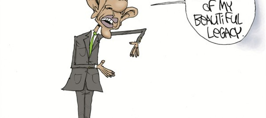 Obama Te'O-ing (Cartoon)