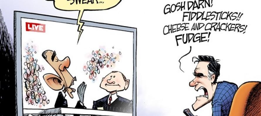 I, Barack Obama, Do Solemnly Swear… (Cartoon)