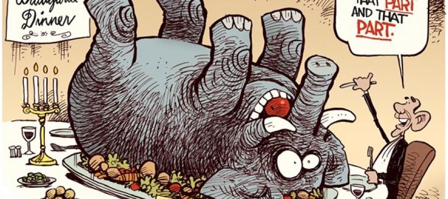 Bipartisanship (Cartoon)