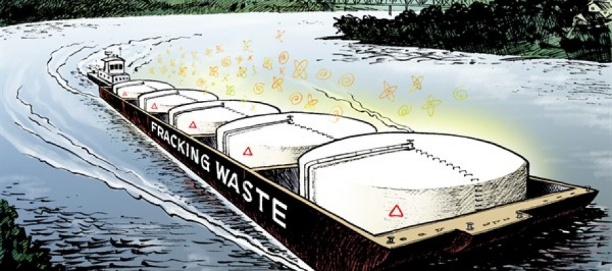 LOCAL OH – Fracking Ferry (Cartoon)