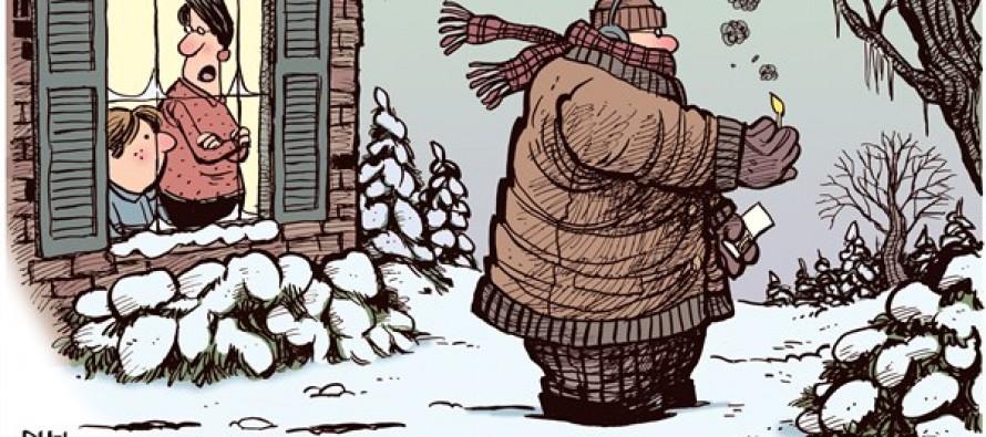 Global Warming Please (Cartoon)