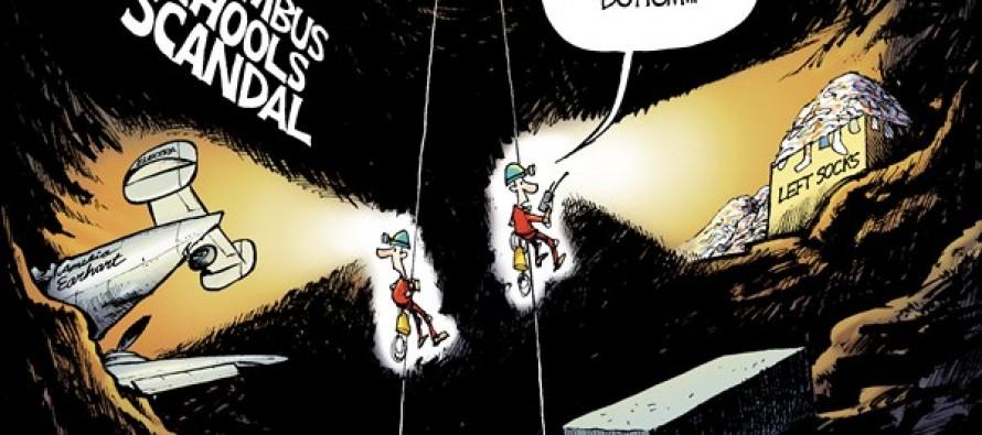 Columbus Schools Scandal (Cartoon)