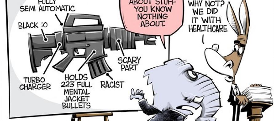 Boomstick control (Cartoon)