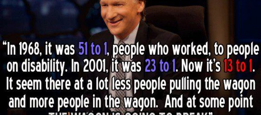 Bill Maher Speaks the Truth – Scary