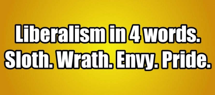 Liberalism in 4 Words (Picture quote)