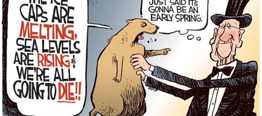 Groundhog Global Warning (Cartoon)