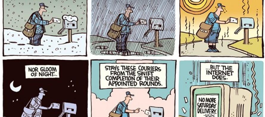 Saturday Delivery (Cartoon)