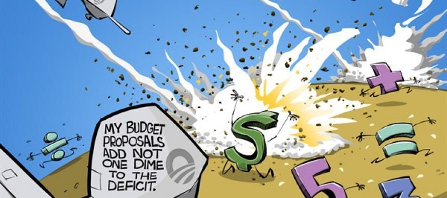Obama's War on Math (Cartoon)