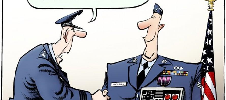Drone Medal (Cartoon)