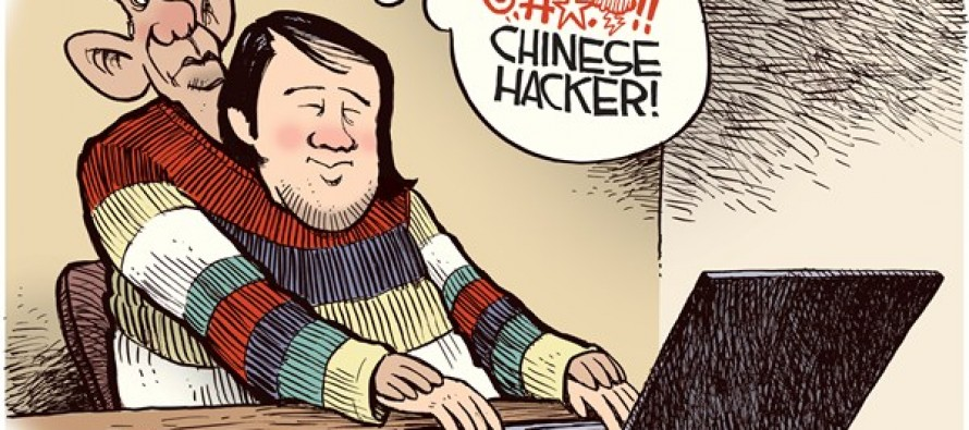 Chinese Hacker (Cartoon)
