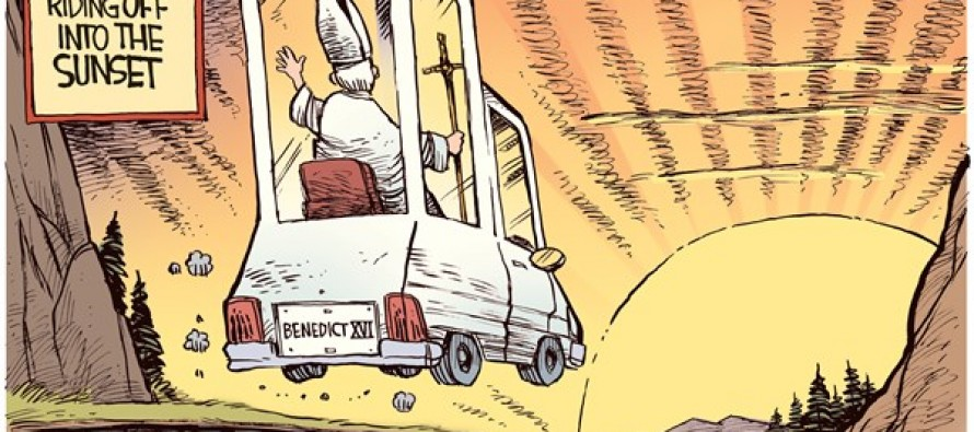 Sunset Pope (Cartoon)