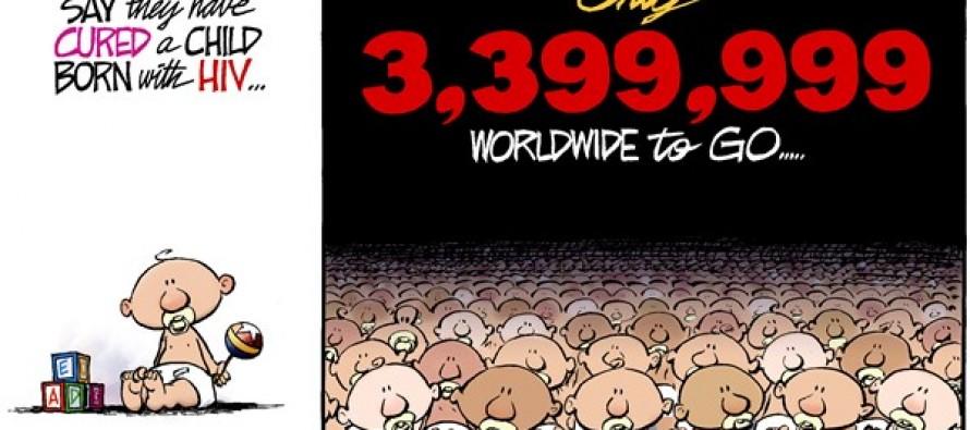 HIV Cure (Cartoon)