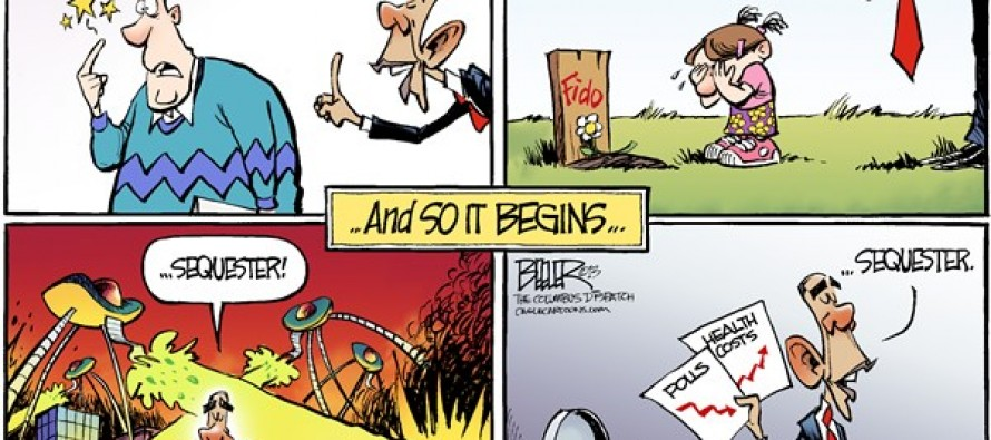 Sequester Blame (Cartoons)