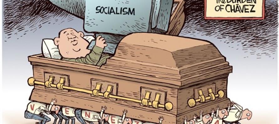 Chavez Dead (Cartoon)