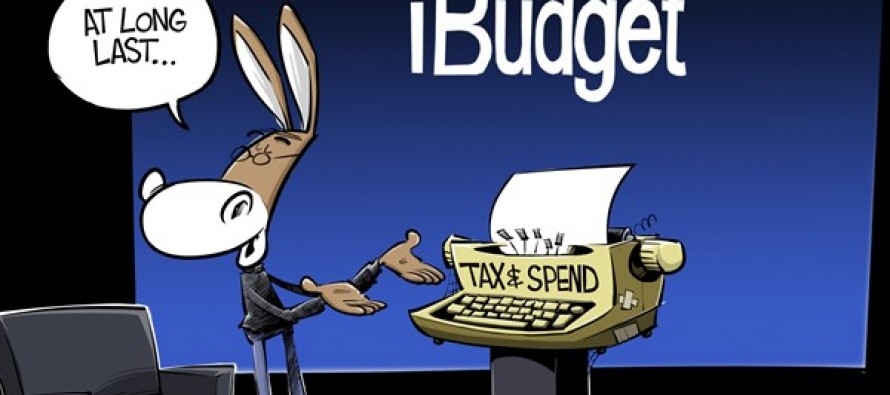 The Democrats New Budget (Cartoon)