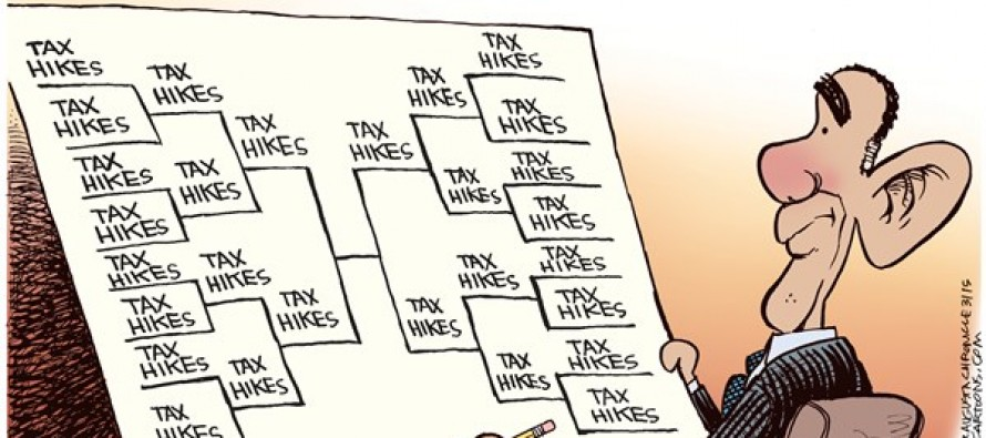 Obama's Brackets (Cartoon)