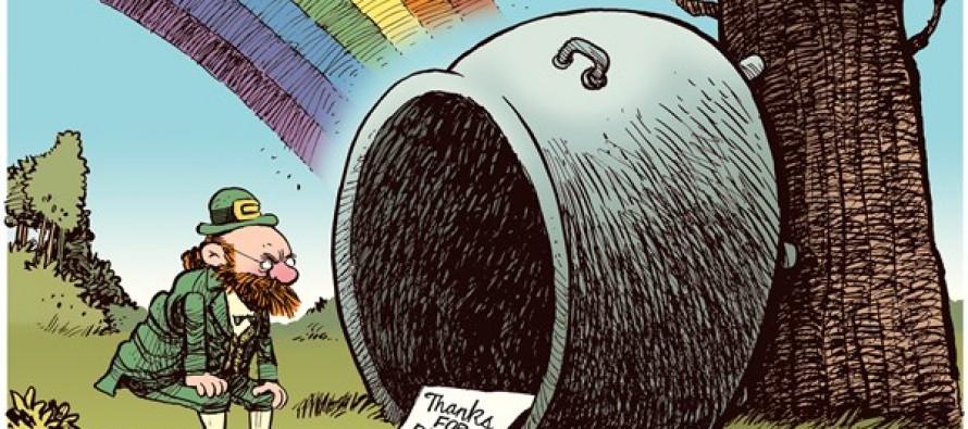 St Patrick's Day (Cartoon)