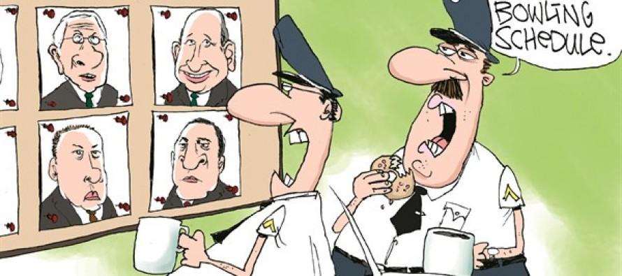 Financial Crisis CEOs (Cartoon)