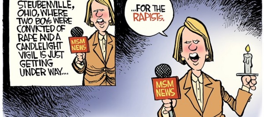 Rape Vigil (Cartoon)