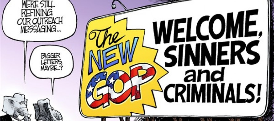 Republican Rebranding (Cartoon)