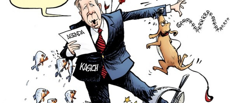 Kasich Agenda (Cartoon)