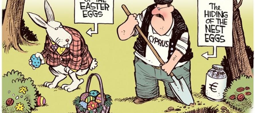 Cyprus Nest Eggs (Cartoon)
