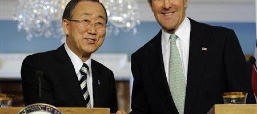 Is The U.N. Weapons Treaty Supported By John Kerry A Backdoor Way To Achieve Gun Control In America?