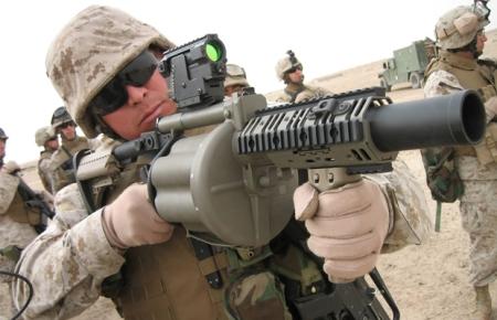 M32 Multiple Grenade Launcher