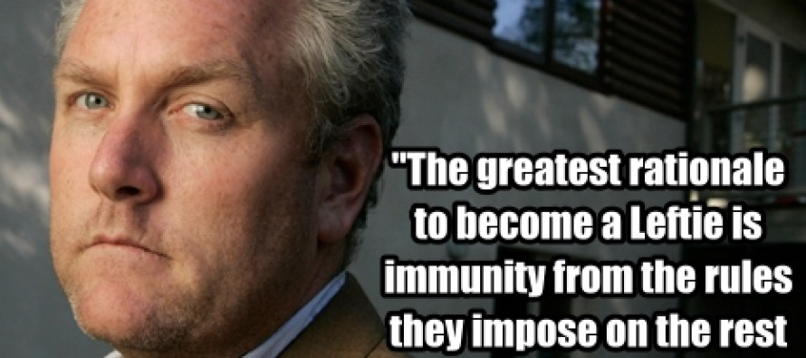 In Honor Of The One Year Anniversary Of Andrew Breitbart's Death: The Greatest Rationale To Become A Leftie (Pic/Quote)