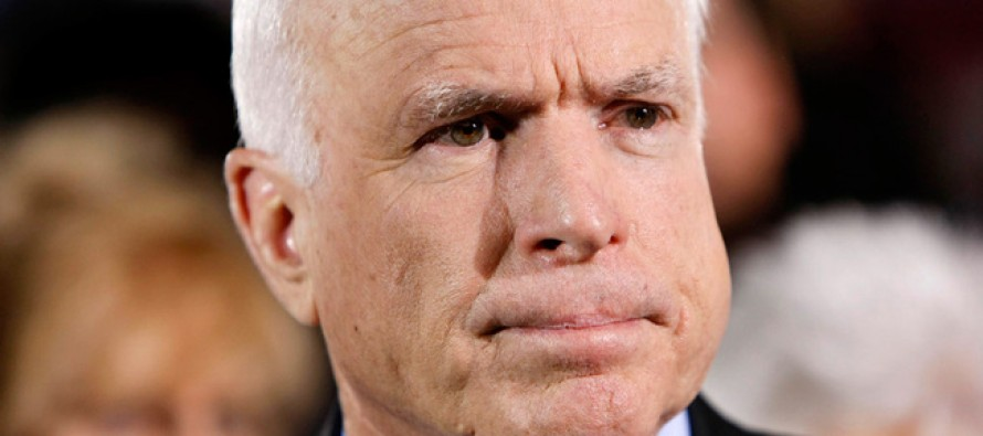 Time for Old Soldier McCain to Fade Away