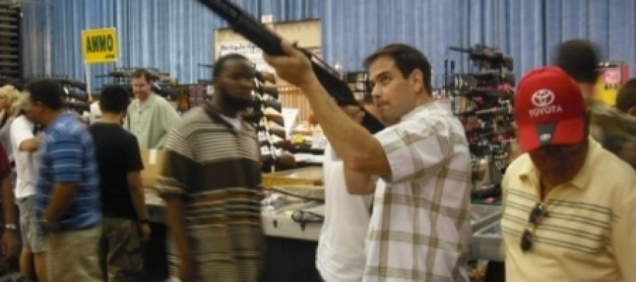 Rubio Pledges To Filibuster Gun Control Legislation